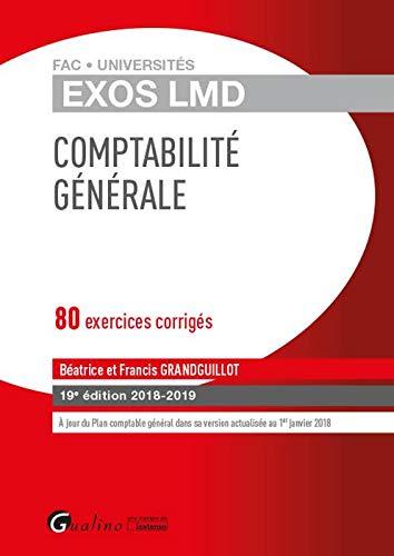 Comptabilite générale : 80 exercices corrigés
