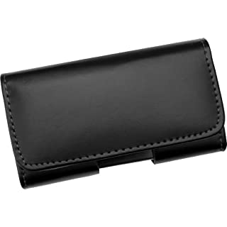 AQ Mobile Real leather horizontal belt case/holster for Samsung Galaxy A3 with belt clip and magnetic closure - Premium line (NOT for phone with bumper or additional case)