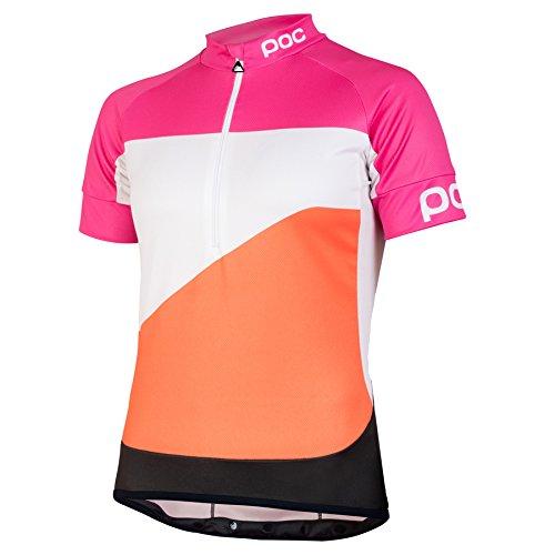 POC Fonds Gradient Wo Classic Radtrikot, Frauen S Rosa (Theor Multi Pink)