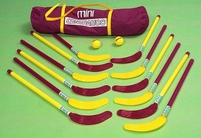 centrahoc principianti bambini Pavimento Hockey Junior Mini Stick Di Ricambio 7-9anni venduto singolo, rosso