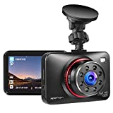 apeman Dashcam Car Camera Full HD 1080P Car DVR with