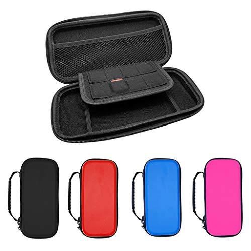 DishyKooker Eva Hartschalenkoffer Game Bag für NS Switch Lite Host Controller Aufbewahrungsbox Elektronisches Telefonzubehör für Reisen/Arbeiten