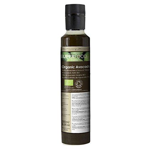 Bio Avocadoöl nativ - Speiseöl 250ml kaltgerpesst -