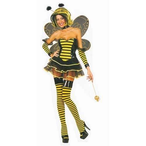 Sexy Bumble Bee (S) (Bumble Bee Kostüme Sexy)