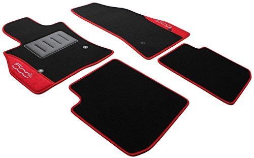 ilTappetoAuto COLOR0000001R Tappetini Auto Moquette Antiscivolo, Rosso