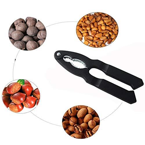 Chestnut Cutter Walnuss Zangen Spannmuttern Clip Satinless Stahl Starke Energie Mandel Pecan Nussknacker-Küche-Werkzeug Zubehör