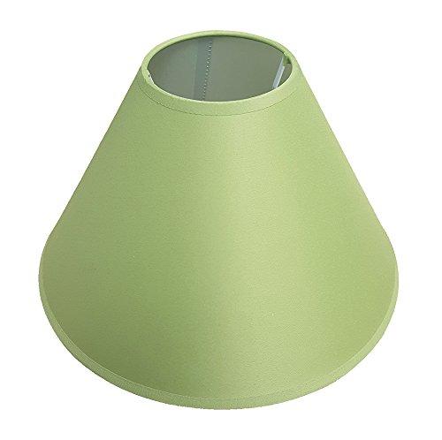 Pantalla para lámpara de techo - y de la mesa de luces, 30 cm, disponible en colour morado/negro/colour crema/Azul claro/verde claro/colour lila/verde/azul marino/colour melocotón/con forma de flor de coloures/rojo/blanco/rojo