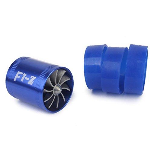 Preisvergleich Produktbild Turbolader Turbinelüfter Double Turbo Propeller ECO Lüfter F1-Z Fuel