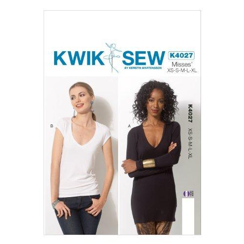 KWIK-SEW PATTERNS K4027 Misses
