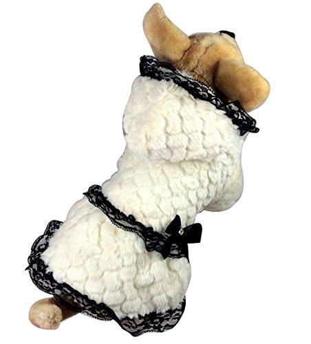 Kapuzenjacke für kleine Hunde und Katzen, Samt / Baumwoll-Fleece, erhältlich in den Größen XS / S / M / L / XL