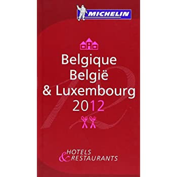 Belgique 2012 Michelin Guide