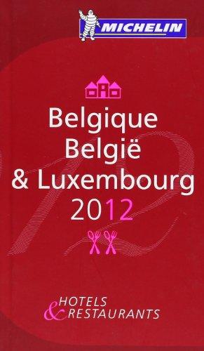 Belgique 2012 Michelin Guide par Mo Yan