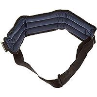 Sammons Preston Rolyan - Cinturón de sujeción para sillas de ruedas (cierre frontal, acolchado)