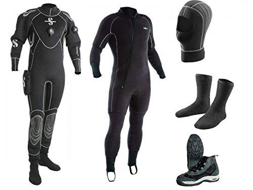 Scubapro-everdry4-buceo-traje-para-hombre-2015-Combo-Pro-Set