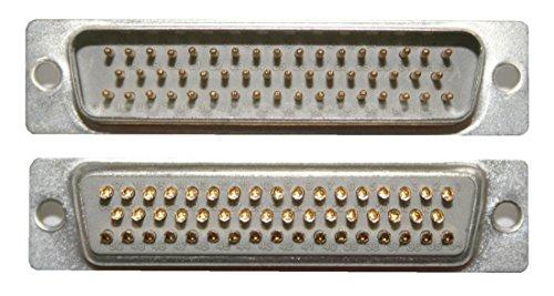 Preisvergleich Produktbild D-Sub Stecker 50 polig männlich Lötanschluss (0237)
