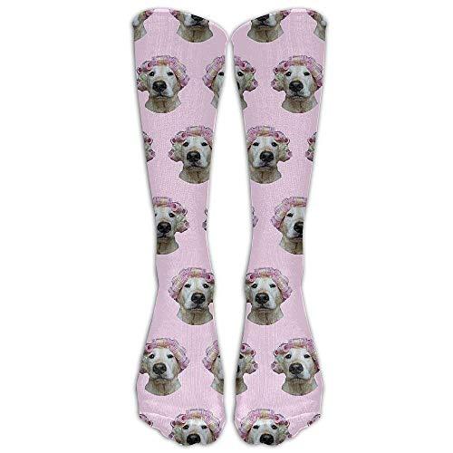 Benutzerdefinierte lustige Strümpfe Universum bunte gemusterte Mädchen Jungen Knie lange Socken Reisen atmungsaktiv -