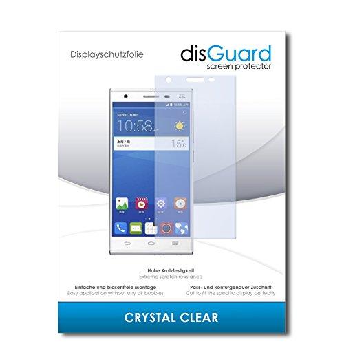 disGuard® Bildschirmschutzfolie [Crystal Clear] kompatibel mit ZTE Star 2 [4 Stück] Kristallklar, Transparent, Unsichtbar, Extrem Kratzfest, Anti-Fingerabdruck - Panzerglas Folie, Schutzfolie