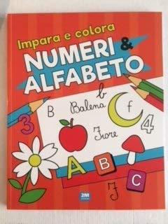 Impara e colora numeri e alfabeto