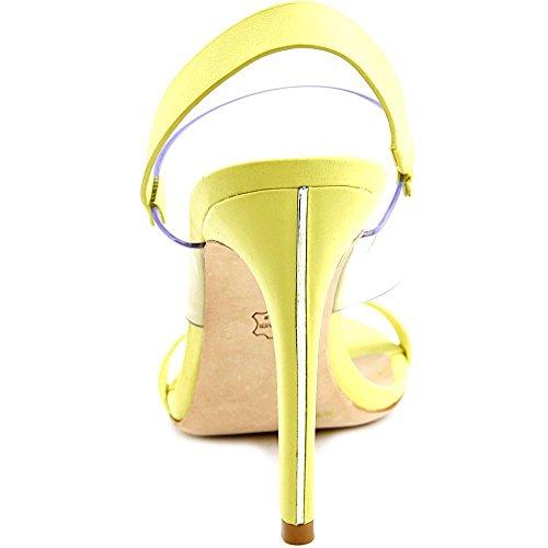 BCBG Max Azria Jash Femmes Cuir Sandales DkLime-Clear