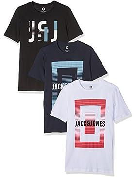 JACK & JONES Herren T-Shirt 3er Pack