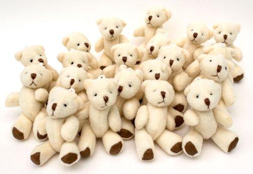 NEW Cute And Cuddly Little Teddy Bear X 10 - Gift Present Birthday Xmas