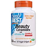 Doctor's Best - Ceramidi di bellezza con Ceramide-PCD - 60Softgels vegetariani
