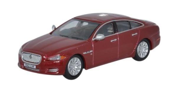 76XJ003 Oxford Diecast Jaguar XJ Saloon Carnelian Red 1//76 Scale OO Gauge