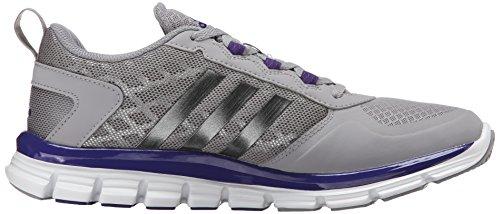 Adidas Performance Speed â??â??Trainer 2 Formazione scarpe, nero / carbonio metallizzato / Oro colle Light Onyx Grey/Carbon Metallic/Collegiate Purple