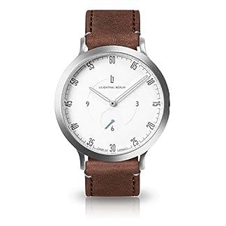 Lilienthal-Berlin-Unisex-Armbanduhr-L1-in-Silber-Wei