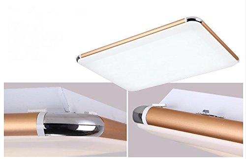 Plafoniere Ultra Sottile Salotto : Sailun 48w ultra sottile led regolabile plafoniera moderno lampada