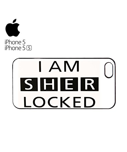 I Am Sher Locked Funny Tumblr Instagram Cool Mobile Phone Case Cover iPhone 6 Plus + White Blanc