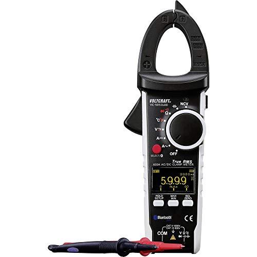 VOLTCRAFT VC-595OLED Stromzange digital OLED-Display CAT III 600 V, CAT II 1000 V Anzeige (Counts): 6000