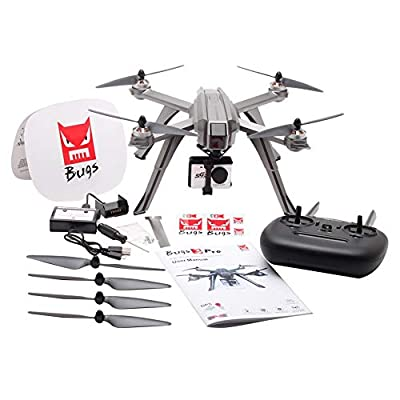 Waroomss MJX Bugs 3 Pro B3PRO Drone with 1080p HD Camera, Live Video and GPS Return Home RC Quadcopter for Adults Beginners with Brushless Motor, Follow Me,5G WiFi Transmission