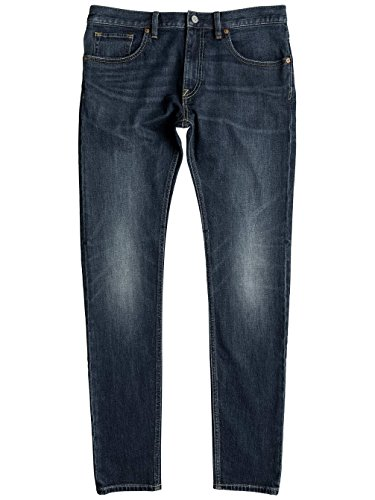 Herren Jeans Hose DC Skinny Washed Jeans Medium Stone