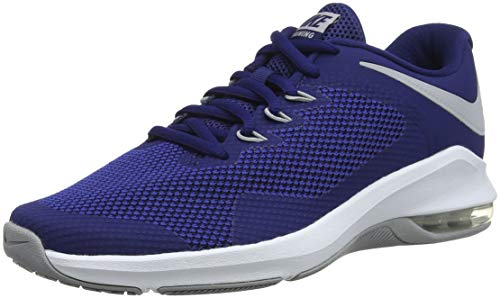 reputable site b91fb e2967 Nike Air MAX Alpha Trainer, Zapatillas de Gimnasia para Hombre, Azul (Blue  Force