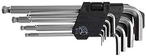 Clés 6 pans mâles métriques (ALLEN BTR) - Jeu de 10 clés