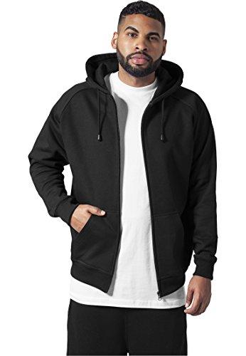 Zip Hoody black 4XL
