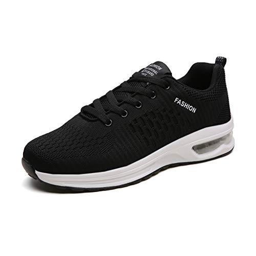 LXJL Scarpe da Ginnastica da Uomo con ammortizzatori da Corsa Traspirante Outdoor Fitness Esercizio Jogging Sneakers Sportive,a,42