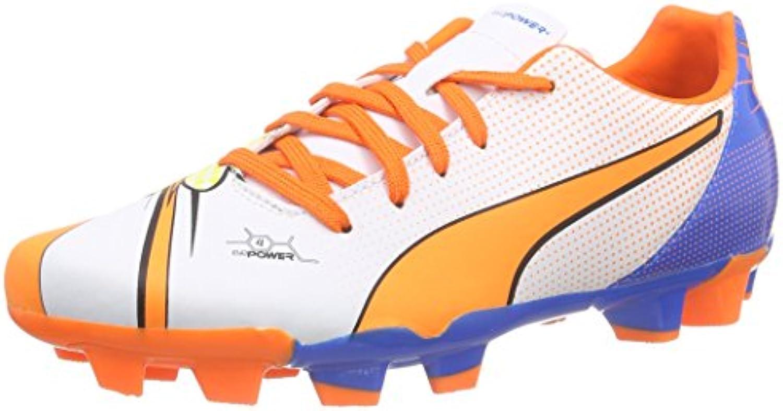 Puma Evopower 4.2 Pop FG Jr - Zapatillas de Fútbol de Material sintético Niños^Niñas