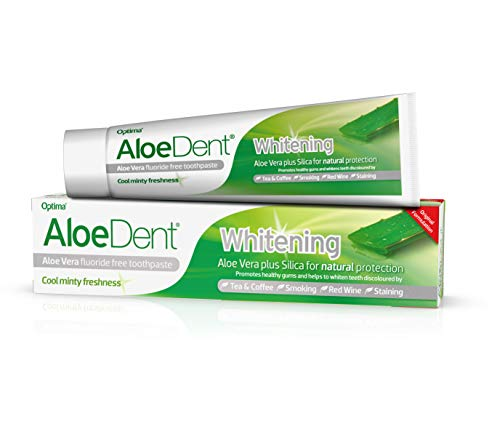 Optima Aloedent Blanchiment Dentifrice 100 ml - Lot de 3