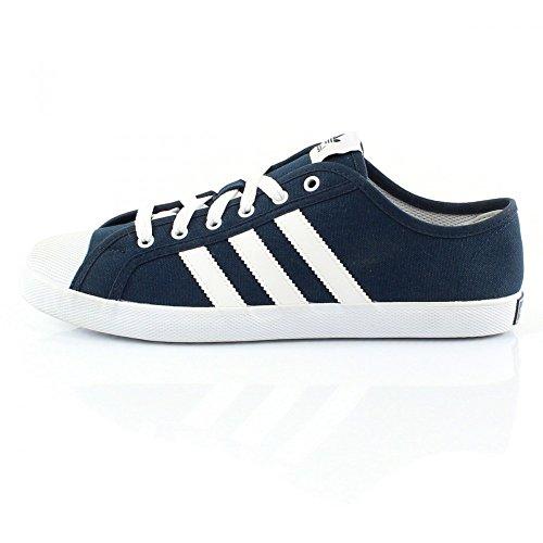 adidas OriginalsSan Remo - Scarpe da Ginnastica Basse Unisex - Adulto Multicolore - Azul marino / Blanco