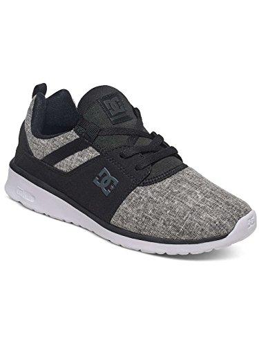 DC Shoes Heathrow Se J, Low-Top Sneaker Donna Noir - Black/Charcoal