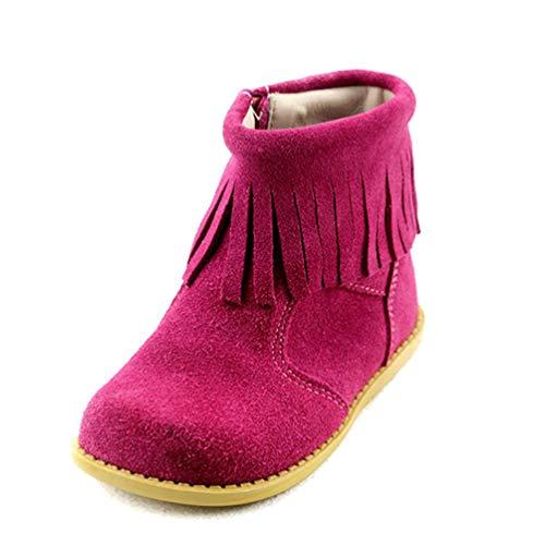 Stiefel Für Mädchen Schnee Stiefeletten Fringe Martin Stiefel Freizeitschuhe Mit Reißverschluss ()
