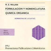 Amazon.es: Formulacion y nomenclatura de quimica organica