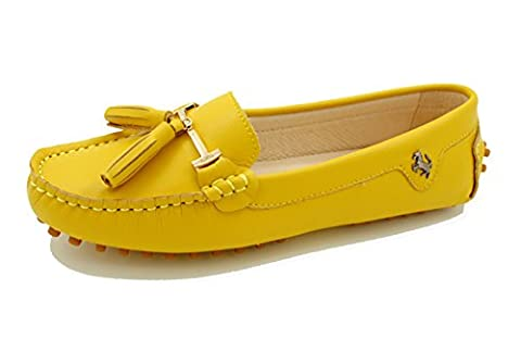 Miyoopark , Ballet femme - Jaune - Smooth Leather-Yellow, 37.5