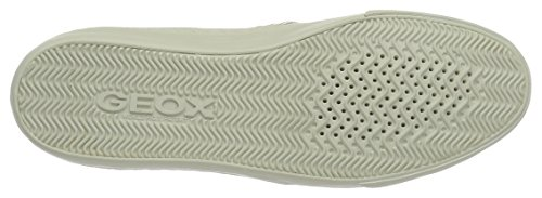 Geox Damen D New Club G Sneakers Elfenbein (IVORY/OFF WHITEC1661)