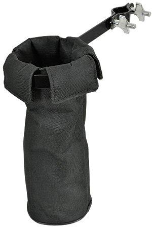avl35-Bacchette, bacchette, spazzole metalliche, rutes Holder Morsetti a braccio o il tamburo Hardware angolare rimozione Pouch Musica Strumento
