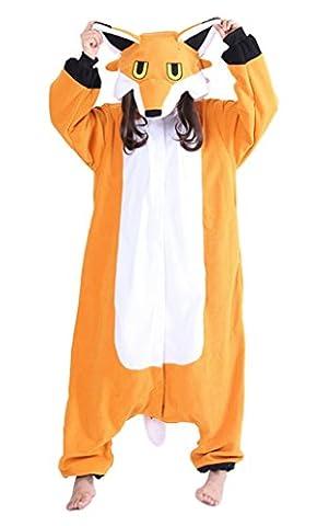 Aivtalk Erwachsene Tier Kostüme Pyjamas Jumpsuit Onesie Fuchs Cosplay Kostüm