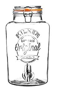 Kilner Fontaine à boissons en verre 8L