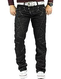 Cipo & Baxx Herren Jeans Denim Biker Streatwear Freizeit-hose Clubwear Bestseller Streetwear Dope Swag